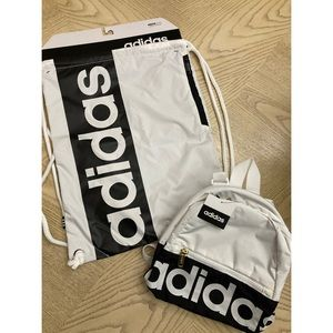 *BUNDLE* Adidas Mini Backpack/Drawstring Backpack